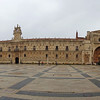 Panoramic view of Parador of Leon