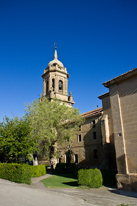 The church of Grañon, along the Camino de Santiago.
