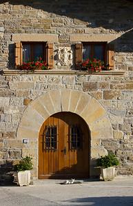 Historic house in Esquirotz, Spain, a small village along the Camino de Santiago.