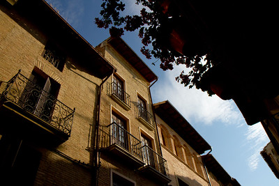 A house in Puente la Reina, Spain.