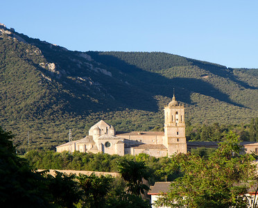 The Monastery of Irache, a former Benedictine monastery, was started in the 8th century.  The historic building is presently being converted into a luxury Parador hotel.