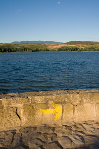 After Logroño, the Camino de Santiago passes through the Pantano de la Grajera park and along its reservoir.