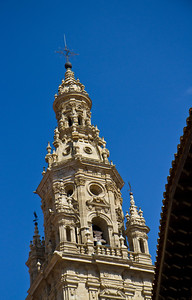 The tower of the cathedral of Santo Domingo de la Calzada.