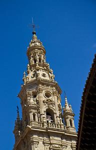 The tower of the cathedral of Santo Domingo de la Calzada.