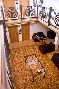 The municipal albergue in Santo Domingo de la Calzada. Excellent facilities available for a donation.