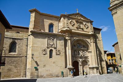 The impressive cathedral of Santo Domingo de la Calzada.