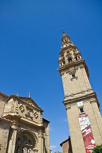 The cathedral tower of Santo Domingo de la Calzada.