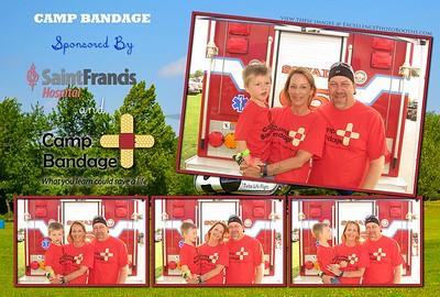 Camp Bandage Booth 1