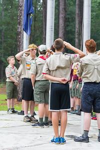 Camp Bowers 2018 Summer Camp Troop 257  White Oak NC_27