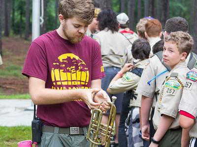 Camp Bowers 2018 Summer Camp Troop 257  White Oak NC_29
