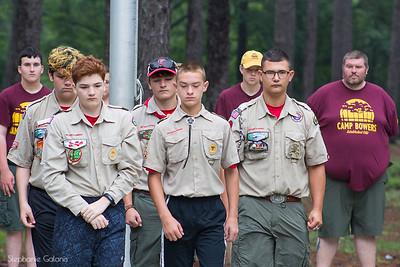 Camp Bowers 2018 Summer Camp Troop 257  White Oak NC_28