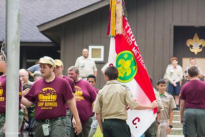 Camp Bowers 2018 Summer Camp Troop 257  White Oak NC_18