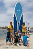 Paddle Board Group Shot Vertical