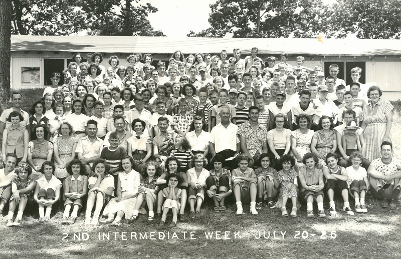 2nd Intermediate Week, July 20-26, 1952 Ray Johnson, Dean