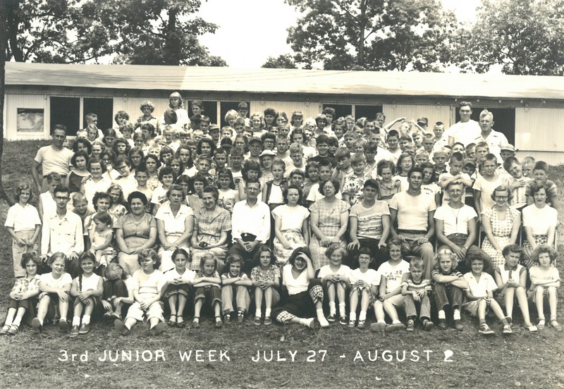 3rd Junior Week, July 27-August 2, 1952 E L  Russell, Dean