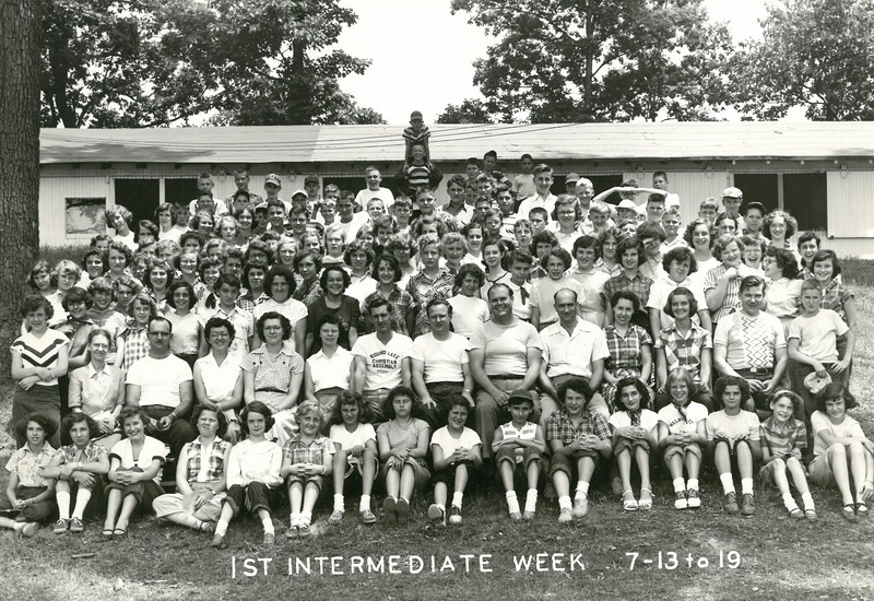 1st Intermediate Week, July 13-19, 1952 Walter Jordan, Dean