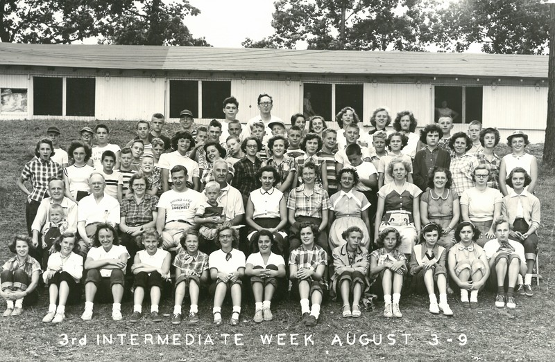 3rd Intermediate Week, August 3-9, 1952 Ray Johnson, Dean
