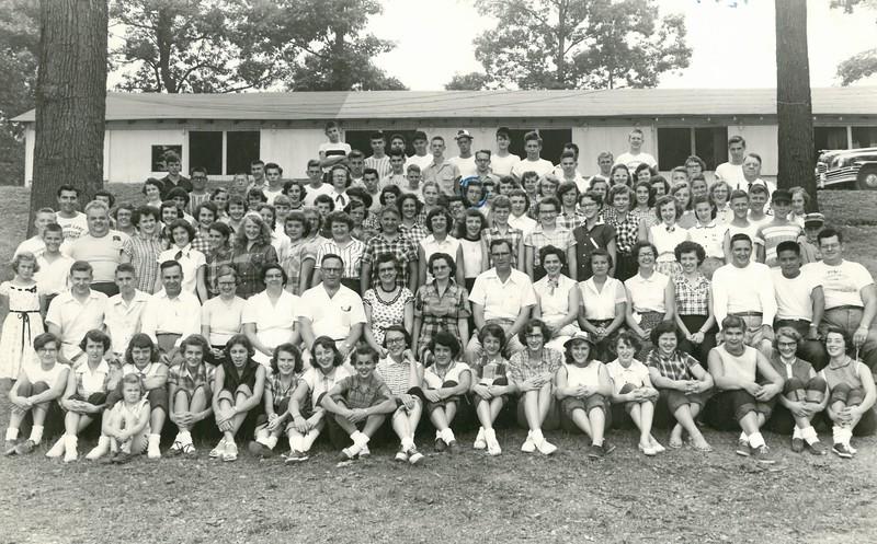 Senior Week, August 1953, Eugene Barbee, Dean 1