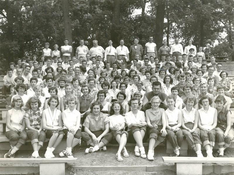 1st Senior Week, Aug 1-7, 1954, E U  Barbee, Dean 1