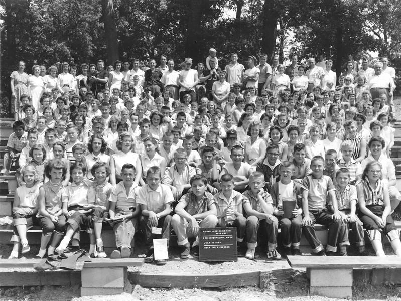 3rd Intermediate Week, July 29-Aug 4, 1956 Mr Nickerson, Dean