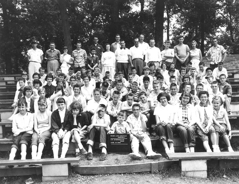 1st Intermediate Week, July 15-21, 1956 Ira Brandon, Dean