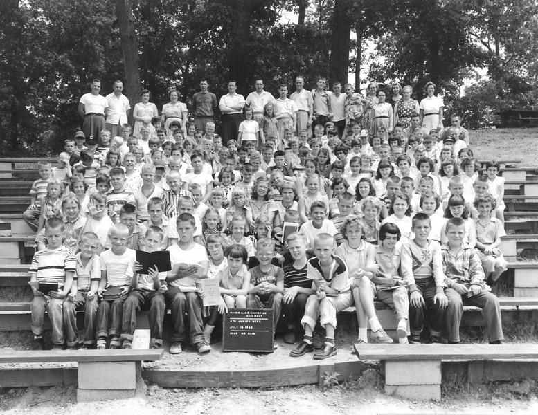 4th Junior Week, July 16, 1956 Mr Bain, Dean