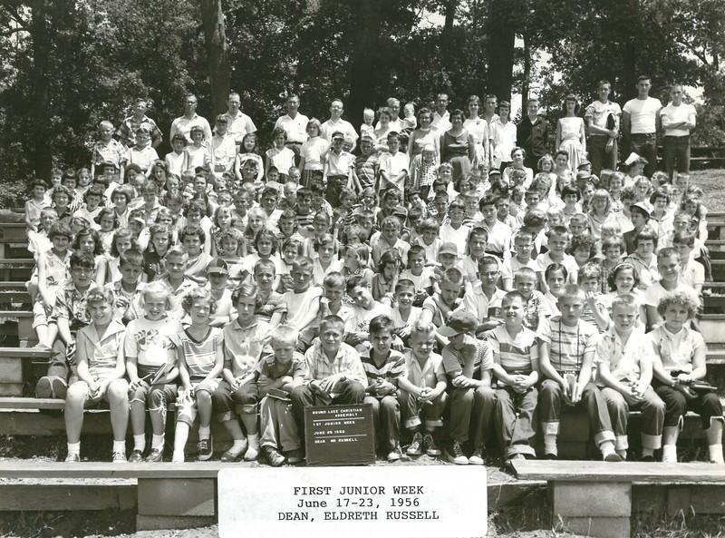1st Junior Week, June 17-23, 1956 Mr Eldreth Russell, Dean