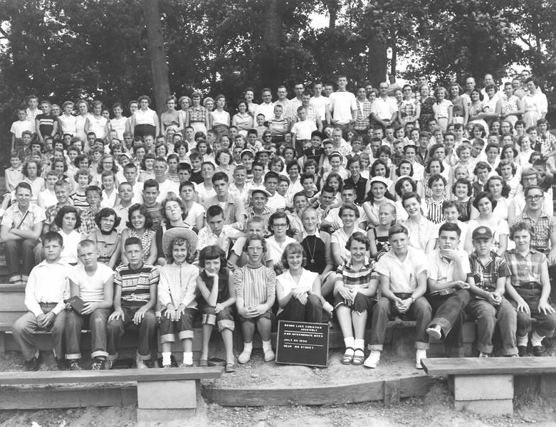 2nd Intermediate Week, July 22-28, 1956 Mr Storey, Dean