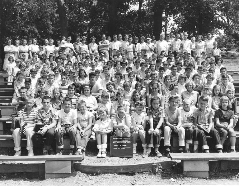 4th Intermediate Week, August 5-11, 1956 Mr Gill, Dean