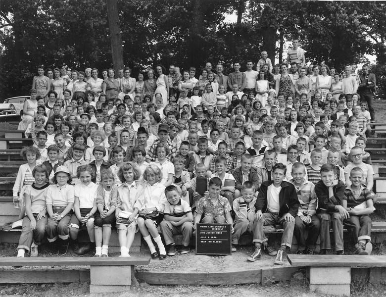 3rd Junior Week, July 1-7, 1956 Walter Klages, Dean