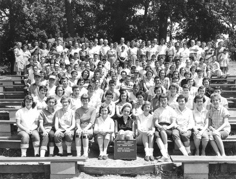 1st Senior Week, August 12-18, 1956 Mr Murhl Rogers, Dean