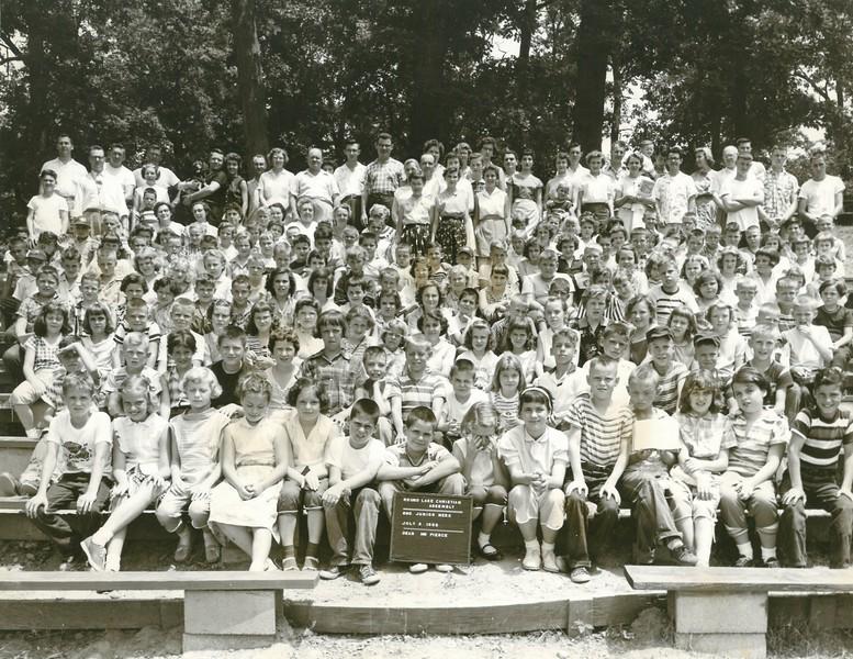 2nd Junior Week July 2, 1956 Mr Pierce Dean
