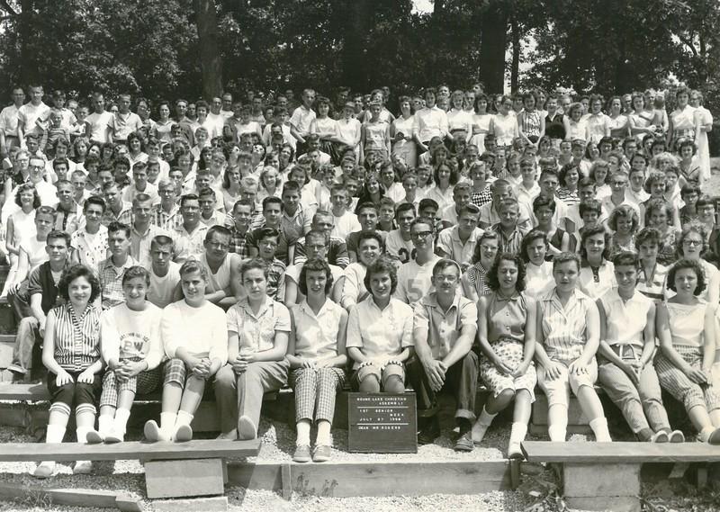 1st Senior Week, July 27-Aug 2, 1958 Murhl Rogers, Dean