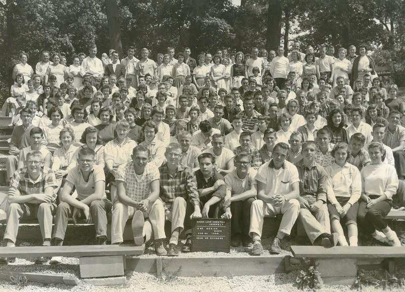 2nd Senior Week, August 24-30, 1958 Stewart Rodgers, Dean
