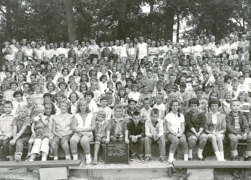 5th Junior Week, July 20-26, 1958 Louis Detro, Dean 1