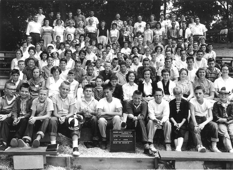 5th Intermediate, August 17-23, 1958 William Norris, Dean
