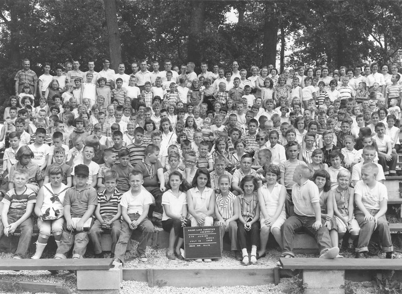 4th Junior Week, July 13-19, 1958 Lawrence Bain, Dean