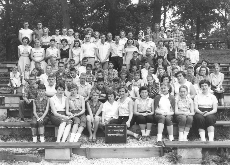 1st Intermediate Week, June 8-14, 1958 Ira Brandon, Dean
