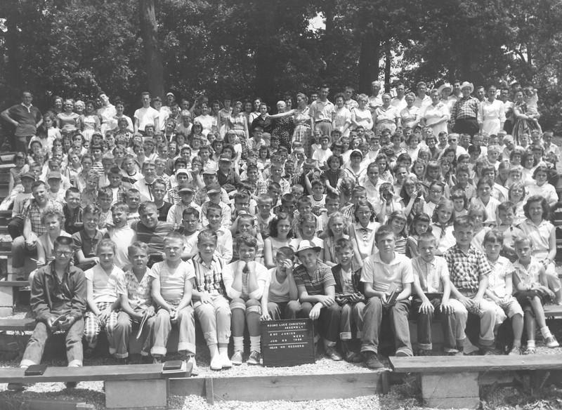 2nd Junior Week, June 29-July 5, 1958 Delmar Rodgers, Dean
