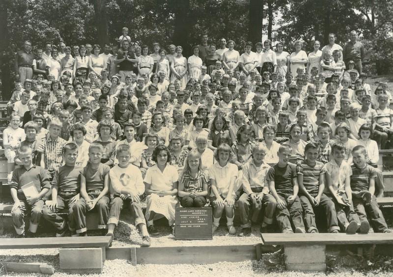 3rd  Junior Week, July 6-12, 1958 Lloyd Dunn, Dean