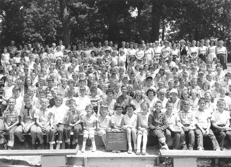 4th Junior Week, July 12-18, 1959 Lawrence Bain, Dean