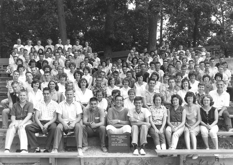 2nd Senior Week, August 28-September 3, 1960 Don Neumeister, Dean