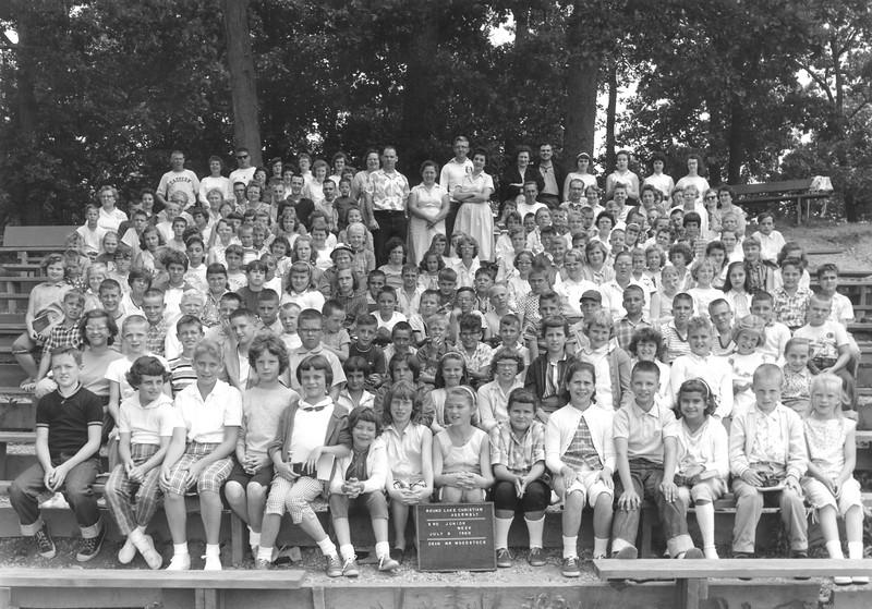 3rd Junior Week, July 3-9, 1960 Don Woodstock, Dean