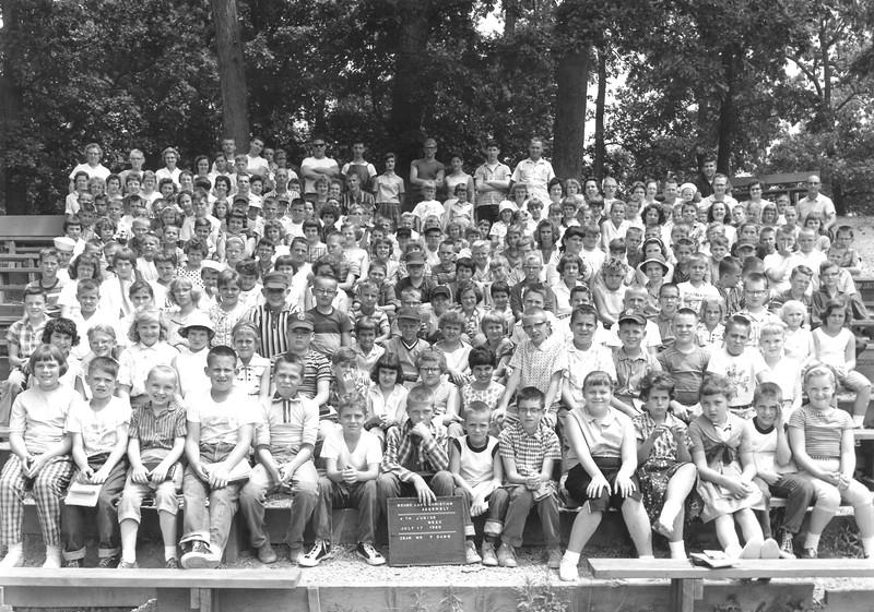 4th Junior Week, July 17-23, 1960 Fred E  Dunn, Dean