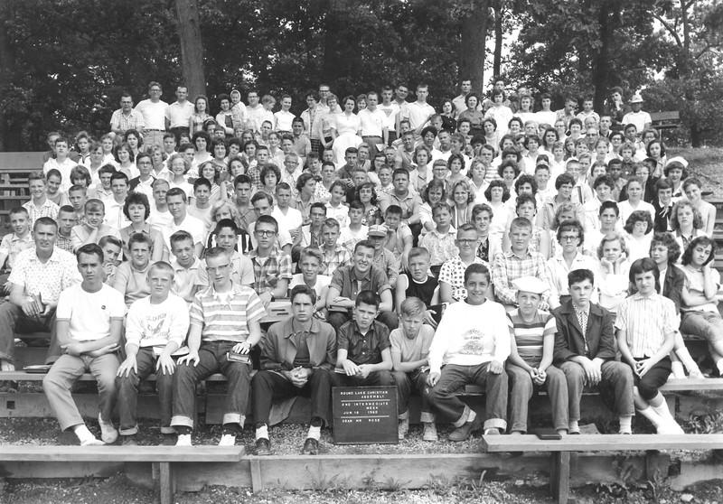 2nd Intermediate Week, June 12-18, 1960 Dave Rose, Dean