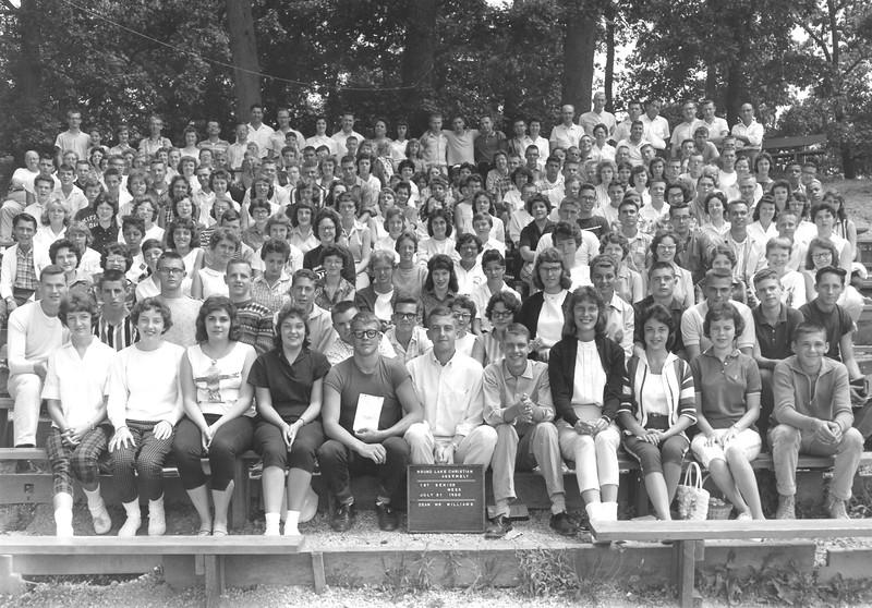 1st Senior Week, July 31-Aug 6, 1960 Dave Williams, Dean
