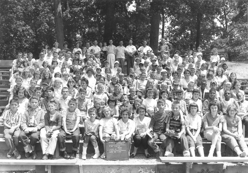 2nd Junior Week, June 26-July 2, 1960 Philip Ling, Dean