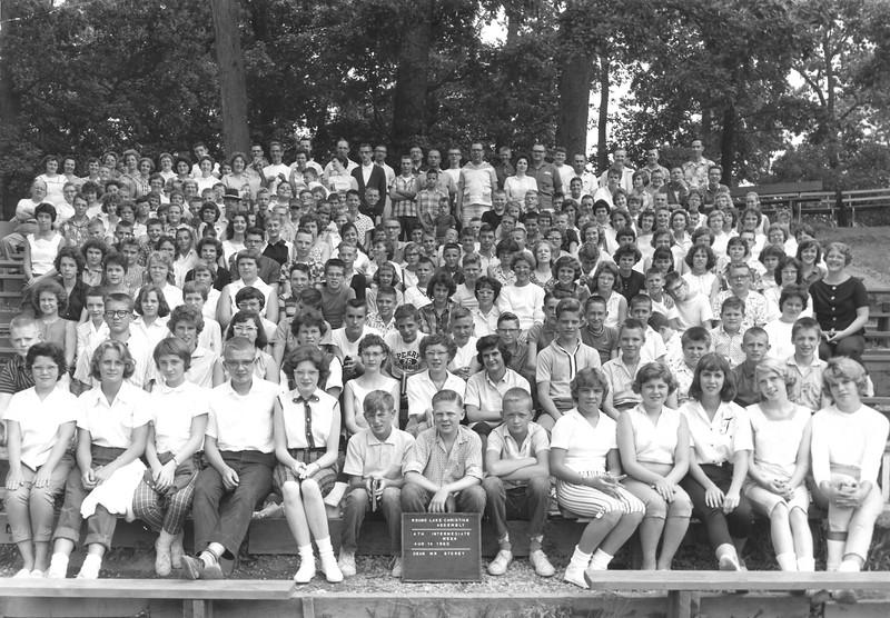 4th Intermediate Week, August 14-20, 1960 Sherriell E  Storey, Dean