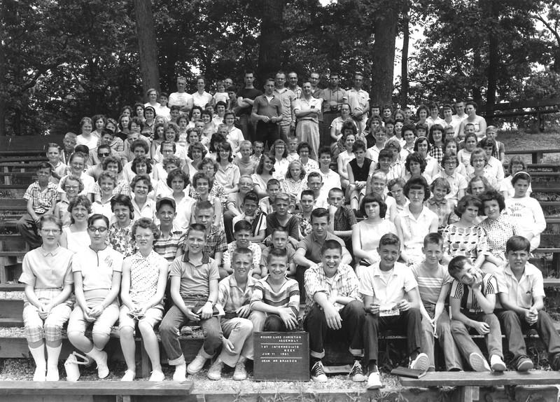 1st Intermediate Week, June 11, 1961 Mr Brandon, Dean