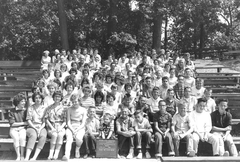 5th Intermediate Week, August 27-September 2, 1961 Bill Dieringer, Dean 1